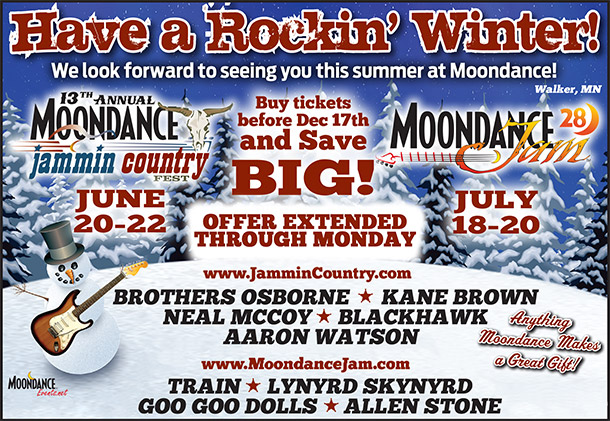 Moondance Jammin Country Fest - Order Tickets and Camping