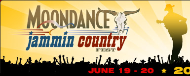 Moondance Jammin Country Fest: June 18-20, 2009